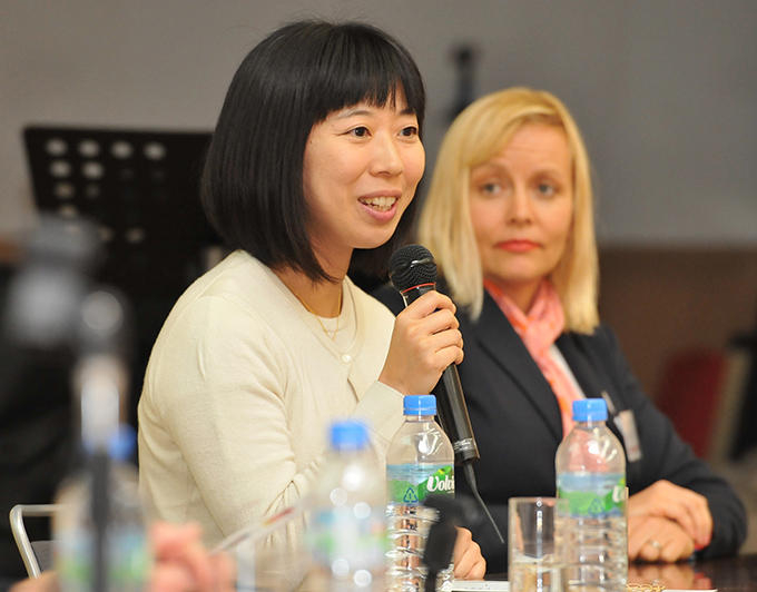 Asami Ono was deployed to the Japan America Society of Greater Cincinnati  for two years beginning in 2011.