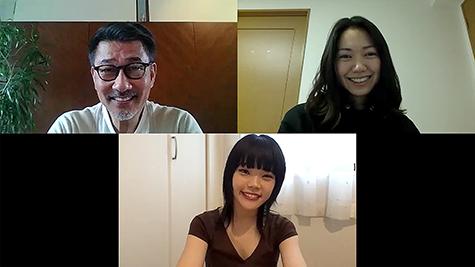 中井さんと二階堂さんが恋人役を演じたリモート制作第2弾『いまだったら言える気がする』場面写真